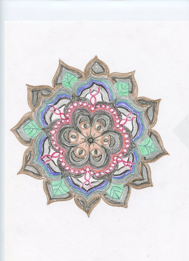 A flower-based mandala