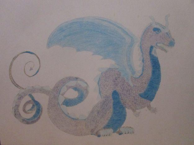 A western dragon, 1989