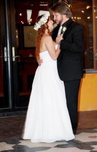 I got married.
