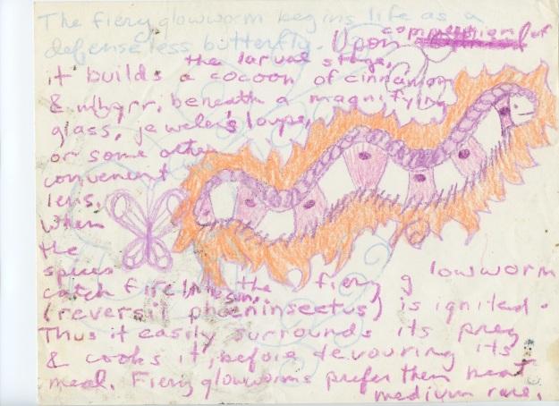 The fiery glowworm; late 90s