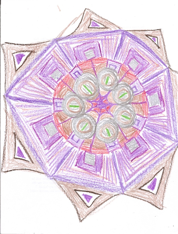 And by special, I guess I mean that if this mandala was a kid, it would ride the short bus.