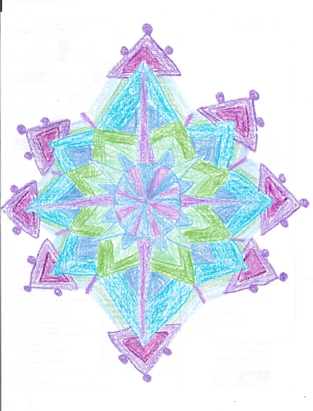 Have a pointy mandala why not?
