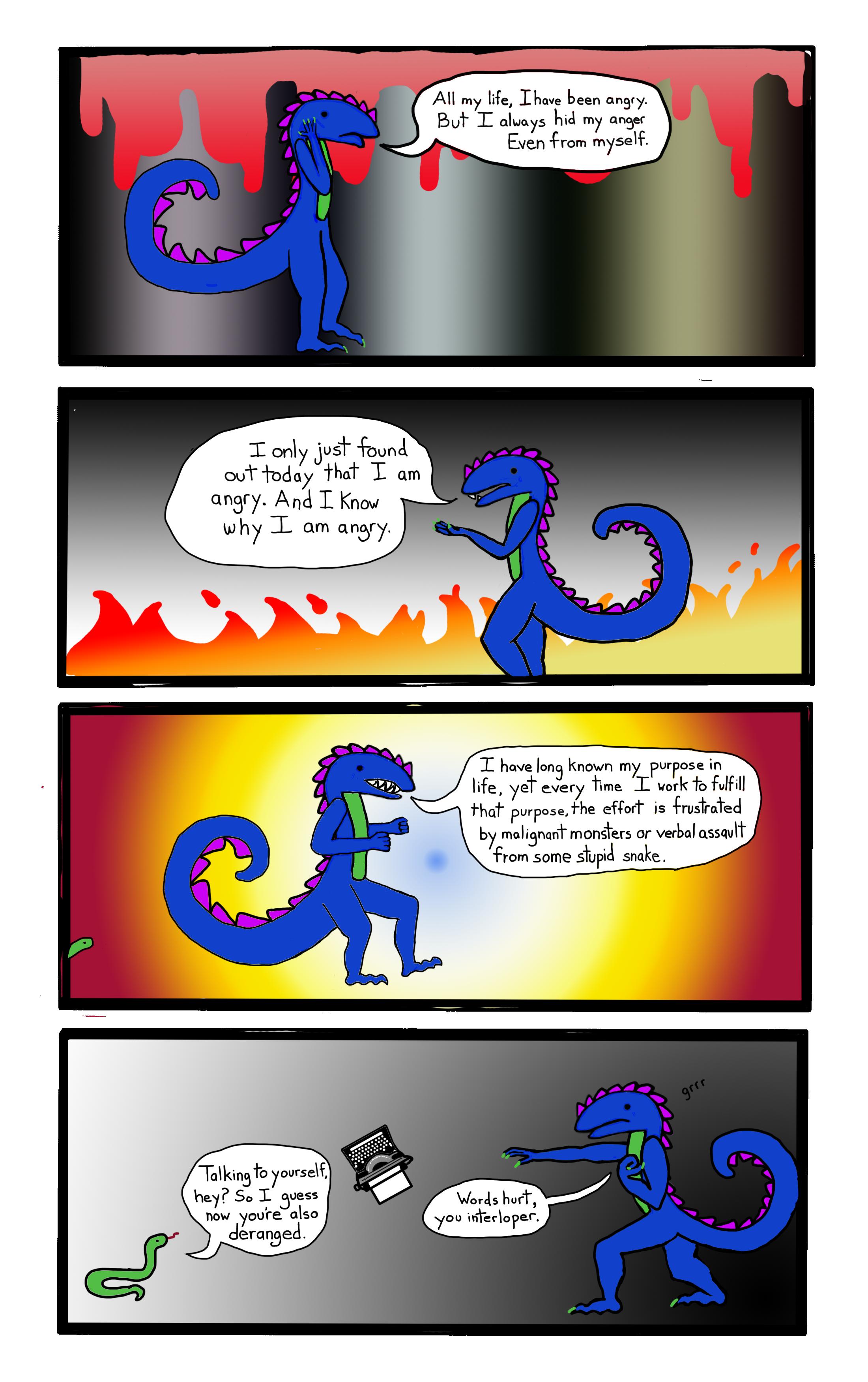 Rage comics: Dragon style