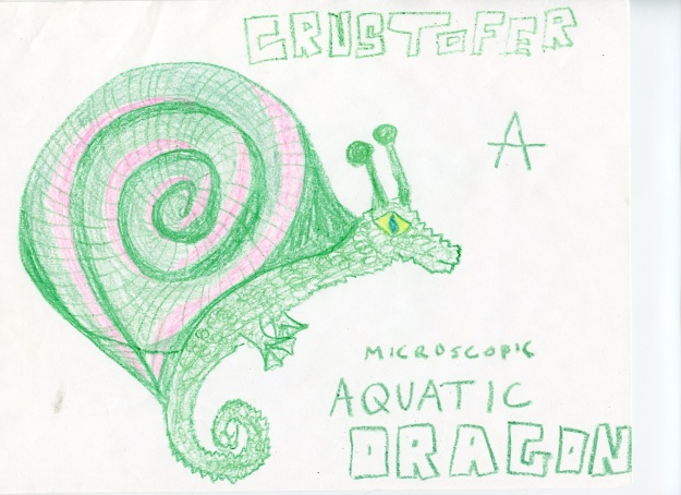 Crustofer, a Microscopic Aquatic Dragon