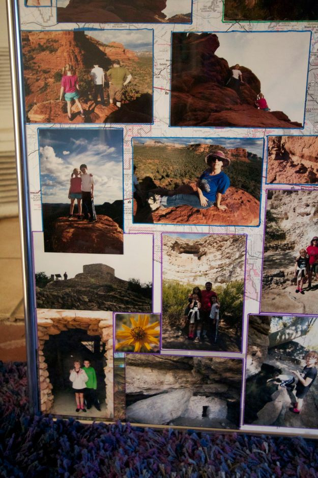 Detail from days 5 and 6: hiking Boyton Canyon and the Sinagua ruins near Sedona.
