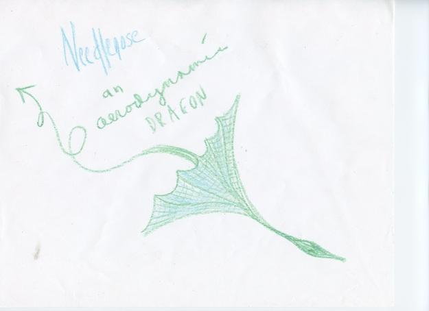 Needlenose, an aerodynamic dragon