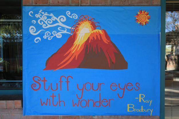 Volcano bulletin board