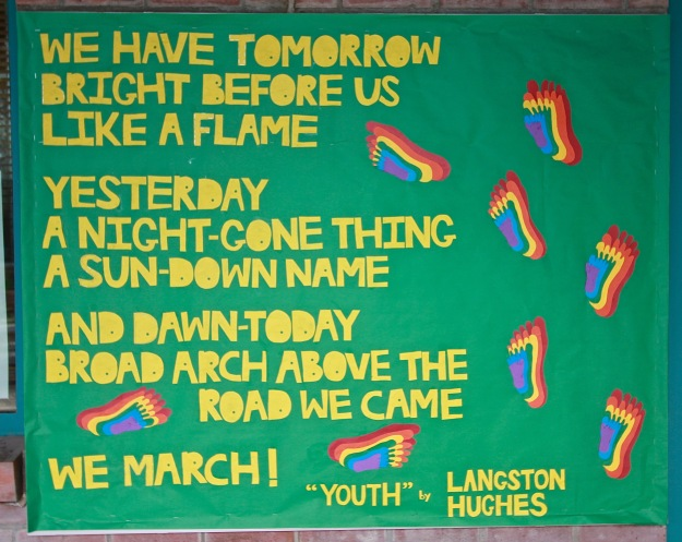 langston hughes on the road text